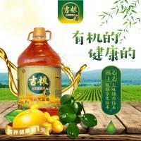 吉糧 非轉基因有機大豆油 5LX1桶/件