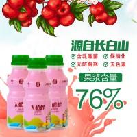 吉糧大楂榨 山楂乳酸菌復合果汁飲料 330mLX12瓶/件