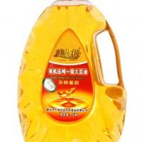 美人松有機壓榨一級大豆油5L