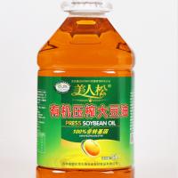 美人松有機壓榨大豆油5L  1件/1桶
