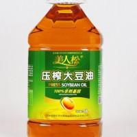 美人松壓榨大豆油5L 1件/1桶