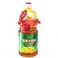 美人松壓榨大豆油1.8L   1件/1桶